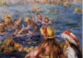 """Swimmers"", about 1892, oil, canvas"