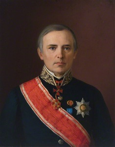 "V. Slendzinskis ""Russian Officer"", 1868, LMA"