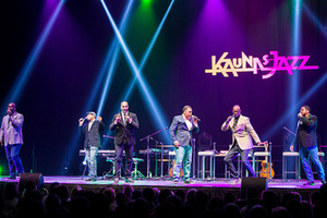 Take 6 concert at the Kaunas Žalgiris Arena. Rėjus Čemolonskas' photo