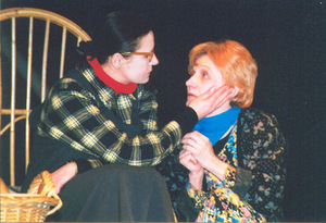 V. Grigaitytė – Jesse in the play Goodnight, mother (director V. Šinkariukas). Photo from the personal archive, 2003.