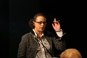V. Grigaitytė – Jeanne in the play Locusts (director R. Atkočiūnas). Photo from the personal archive, 2009.