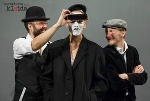 """Spektaklis """"Korektūros klaida"""" (Kauno kamerinis teatras). Giedriaus Kuncevičiaus nuotr."""