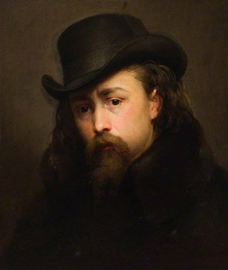"V.Slendzinskis ""Self-portrait"", Lithuanian Museum of Art, 1862"