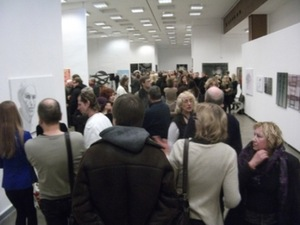 A large crowd at the winner award evening of 'The Best Arwork of the Year 2011'