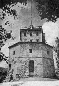 Gediminas Castle Tower in 1938. Equipped with a telegraph tower. Photo from www.lietuve.lt