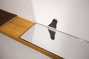 Fragment from P. Ramanauskas and R. Sorakaitė's exhibition Tonometer's echo