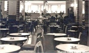 Konrado cafe's interior in the interwar period. Photo from grazitumano.lt