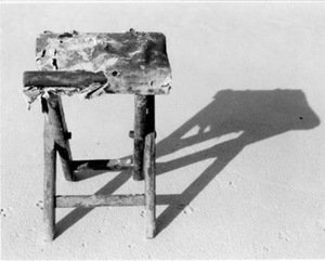 "A. Lukys ""The Chair"" (From the cycle ""Things from the Sea"") 1988-1992"