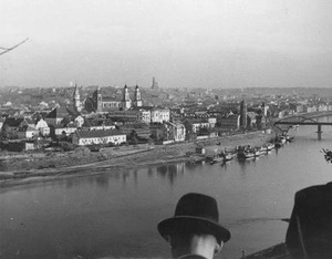 Inter-war panorama of Kaunas