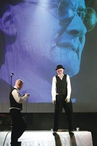 """Mr. Fluxus, or Charlatans"" (dir. Vidas Bareikis). Photo by K. Žičkytė"