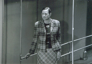 V. Grigaitytė - Fru Elvsted in the play Hedda Gabler (director G. Varnas). Photo from the personal archive.