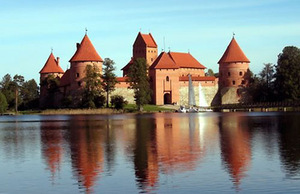 Trakai island Castle. Photo from the heritage.lt