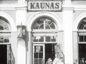 Railway station, inter-war Kaunas