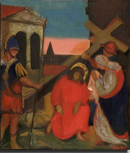 "E. Varkulevičius. ""Sixth Station of the Cross"", 1983."