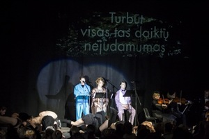 "Programme Post Scriptum of the festival Gaida: musical theatre performance ""Lost Time"" directed by O.Koršunovas. Photo by Edvard Volgin"