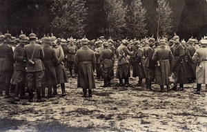 German army in Lithuania, 1918