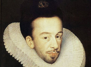 Francois Quesnel, a portrait of Henry de Valois, 1588. Warsaw National Museum