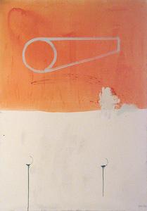 """S. Paliukas. """"Kelionė"""", 2004. Drobė, aliejus, 140 x 200"""