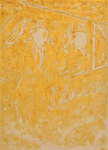 "Judita Budriūnaitė. ""The triptych Happy Hour 2"". 2013. Oil on canvas, 70 x 50. Author's photo"
