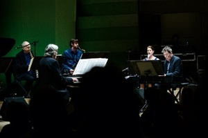 Philip Glass Ensemble. Congress Concert Hall. Photo by Laura Vansevičienė