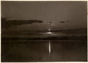 J. Bulhak. Lake around Vilnius. National M. K. Čiurlionis Art Museum archive