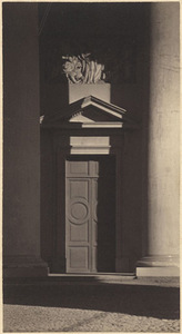 J. Bulhak. Vilnius cathedral doors and columns. National M. K. Čiurlionis Art Museum archive