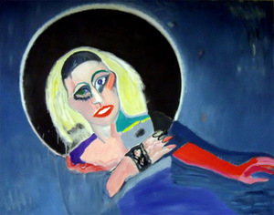 Audronė Petrašiūnaitė. 'Lady Gaga Flies into the Black Hole', 2011