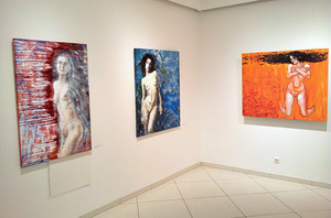 M. Petrauskas' exhibition States at the Balta gallery. Author's photo