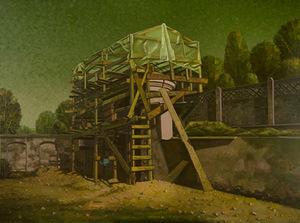 """A. Griškevičius. """"Postamentų restauravimo metas"""", 2011"""