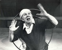 Antanas Žėkas - Nurse Choza. From the play Erelnyčia, 1985. Photo from the Kaunas State Drama Theatre archive.