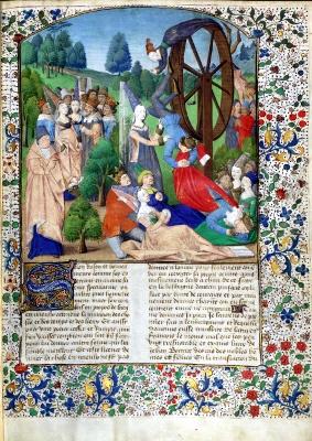 varpos viduramžiais