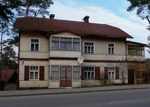 Vaidoto St. 18, house previously owned by Antanas Kvedaras. Photo by A. Raškevičiūtė