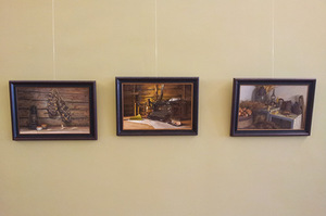 D. Vasiliauskas' exhibition To remember at the Kaunas Cultural Center Tautos namai. Author's photo
